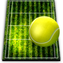 128x128px size png icon of tennis