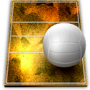 128x128px size png icon of volleyball