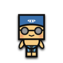 128x128px size png icon of Swimming