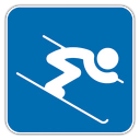 128x128px size png icon of Alpine Skiing