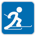 128x128px size png icon of Cross Country