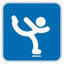 128x128px size png icon of Figure Skating