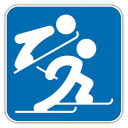 128x128px size png icon of Nordic Combined