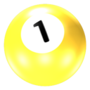 128x128px size png icon of Ball 1
