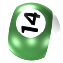 128x128px size png icon of Ball 14