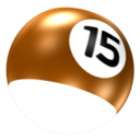 128x128px size png icon of Ball 15