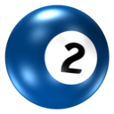 128x128px size png icon of Ball 2