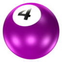 128x128px size png icon of Ball 4