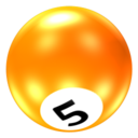 128x128px size png icon of Ball 5