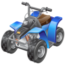 128x128px size png icon of atv racing