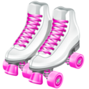 128x128px size png icon of roller skates