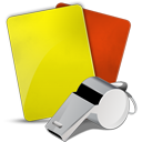 128x128px size png icon of Soccer referee