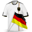 128x128px size png icon of Soccer shirt germany