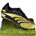 128x128px size png icon of Soccer shoe grass