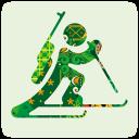 128x128px size png icon of sochi 2014 biathlon
