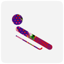 128x128px size png icon of sochi 2014 bobsleigh