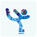 128x128px size png icon of sochi 2014 figure skating