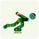128x128px size png icon of sochi 2014 ice skating
