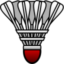 128x128px size png icon of Badminton