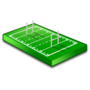 128x128px size png icon of Rugby field