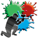 128x128px size png icon of Paint ball