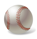 128x128px size png icon of Baseball Ball