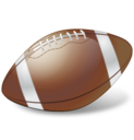 128x128px size png icon of Football Ball