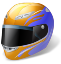 128x128px size png icon of Motorsport Helmet