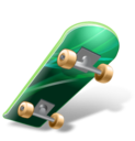 128x128px size png icon of Skateboard