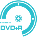 128x128px size png icon of DVD plus R