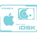 128x128px size png icon of IDisk