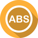 128x128px size png icon of abs