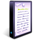 128x128px size png icon of Text Documents