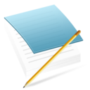 128x128px size png icon of Apps Notepad
