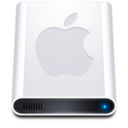 128x128px size png icon of Disk HD Apple