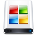 128x128px size png icon of Disk HD Win