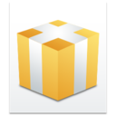 128x128px size png icon of Filetype Packed