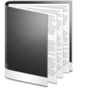 128x128px size png icon of Folder Black Doc