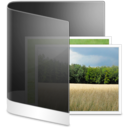 128x128px size png icon of Folder Black Picture