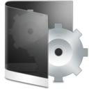 128x128px size png icon of Folder Black System