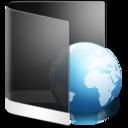 128x128px size png icon of Folder Black Web
