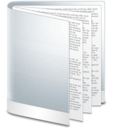 128x128px size png icon of Folder White Doc