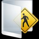 128x128px size png icon of Folder White Public
