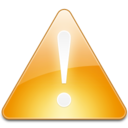 128x128px size png icon of Sign Alert