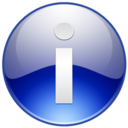 128x128px size png icon of Sign Info
