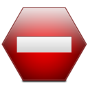 128x128px size png icon of Sign Private