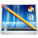128x128px size png icon of System Desktop