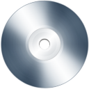 128x128px size png icon of disk cd