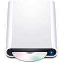 128x128px size png icon of disk hd cdrom
