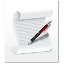 128x128px size png icon of filetype document